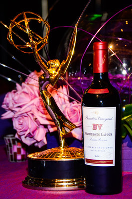 Beaulieu Vineyard 75th Vintage of Iconic Georges de Latour Private Reserve Cabernet Sauvignon To Be Poured at the 66th Emmy Awards Governors Ball and Creative Arts Ball Celebrations (PRNewsFoto/Beaulieu Vineyard)