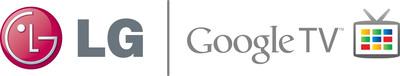 LG Google TV logo.  (PRNewsFoto/LG Electronics USA)