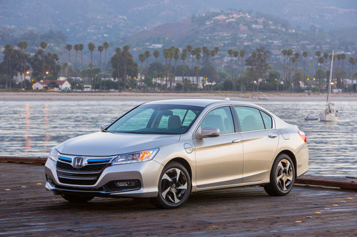 The 2014 Honda Accord Plug-in Hybrid Vehicle is part of a demonstration project for experimental ...