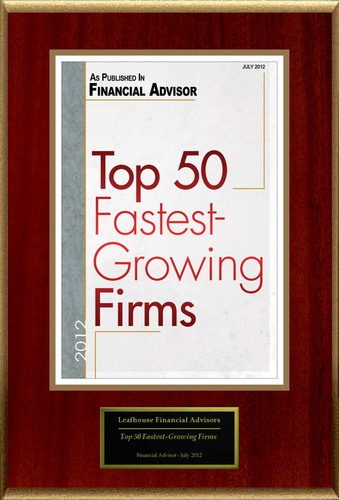 Leafhouse Financial Advisors Selected For 'Top 50 Fastest-Growing Firms'
