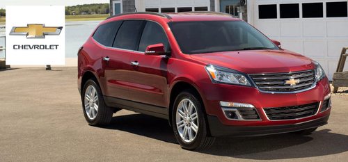 The Chevrolet Traverse Is One Of The Ideal Vehicles For Families In Stock  At Broadway Automotive