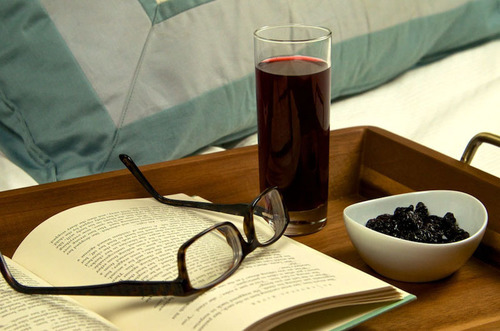 Research indicates that tart cherry juice may help improve the quality and duration of sleep, reduce the ...