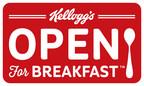 Kellogg is Open For Breakfast(TM) (PRNewsFoto/Kellogg Company)