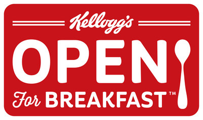 Kellogg is Open For Breakfast(TM) (PRNewsFoto/Kellogg Company)