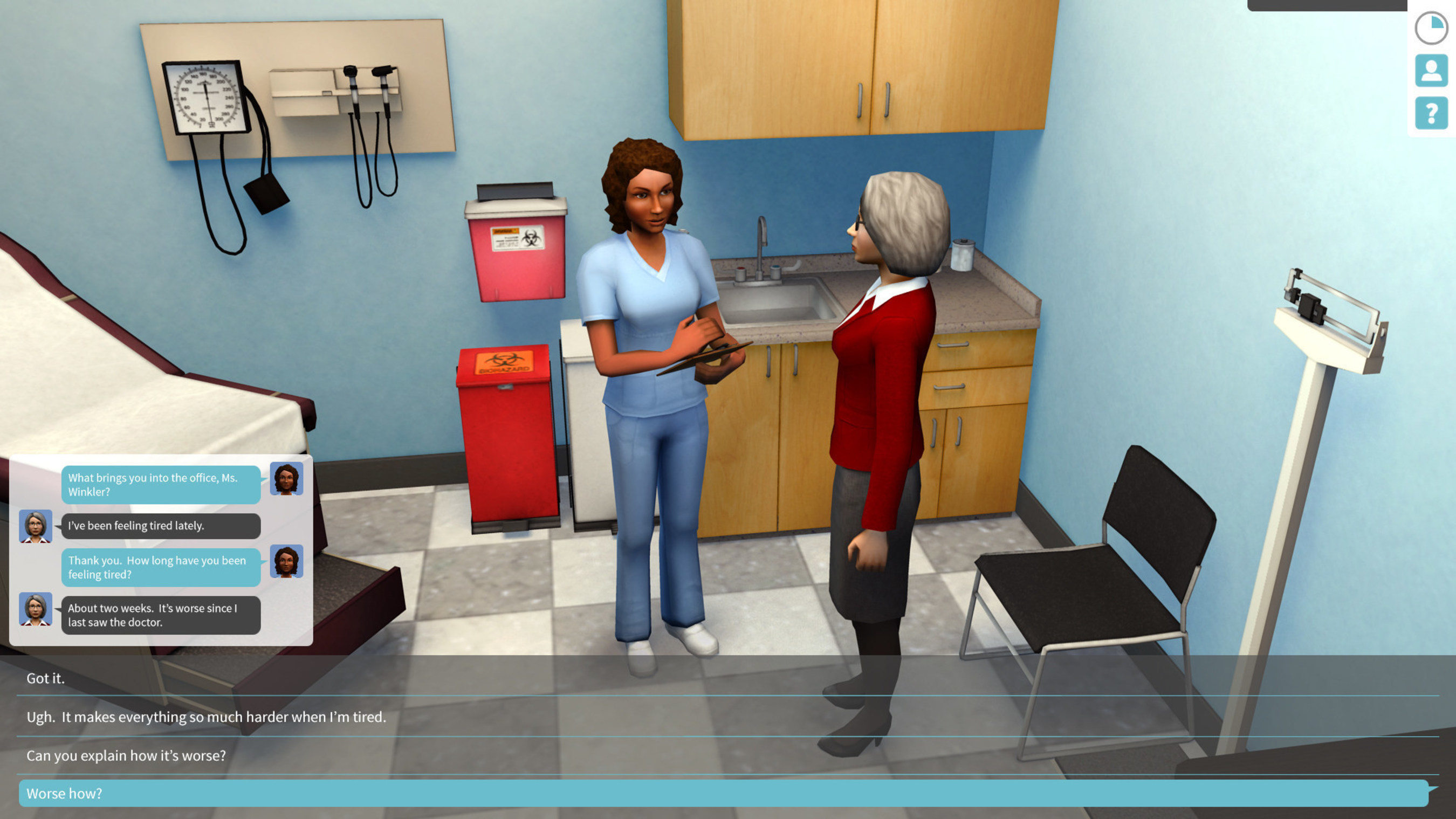 Practice Medical Office, one of the two game-based learning products from Muzzy Lane named finalists for the 2015 Massachusetts Technology Leadership Council Awards in the category Innovative Technology of the Year - Ed Tech.