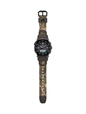 Casio Introduces New Camouflage Pro Trek Timepiece.  (PRNewsFoto/Casio America, Inc.)