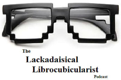 The Lackadaisical Librocubicularist Podcast Logo.  (PRNewsFoto/The Lackadaisical Librocubicularist Podcast)