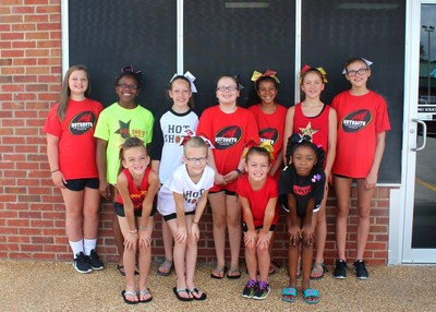 MaxxSouth Broadband is now a sponsor of the The Tallahatchie HotShots Cheerleading Squad, pictured here.