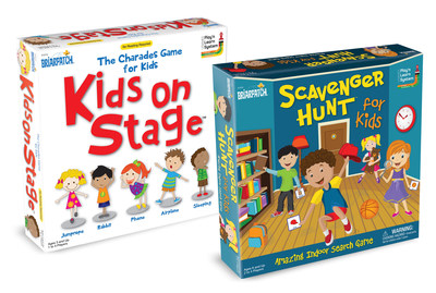 New Games: Kids on Stage and Scavenger Hunt for Kids by University Games