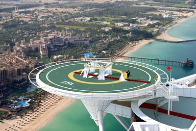 Burj Al Arab Unveils its Wedding in the Skies, 212 Metres Above the Arabian Gulf
