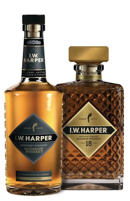 I.W. Harper(TM) Brand Returns Stateside After Two Decades Abroad Releasing I.W. Harper Kentucky Straight Bourbon Whiskey and Limited Edition I.W. Harper 15-Year-Old Kentucky Straight Bourbon Whiskey.