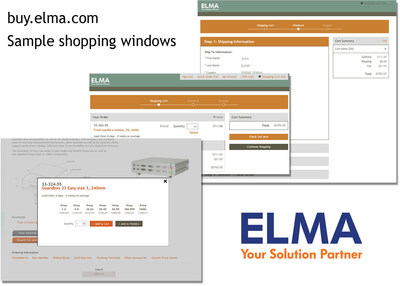 Elma Adds Online Ordering of Standard Products for Enhanced Customer Experience