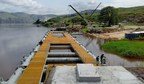 Puma Energy's 99th terminal and image of the jetty in the Democratic Republic of Congo. (PRNewsFoto/Puma Energy)