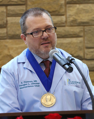 Andrew J. Fishman, MD, has been named the inaugural Douglas L. Johnson Endowed Chair in Neuroscience at Cadence Health, now part of Northwestern Medicine. (PRNewsFoto/Cadence Health)