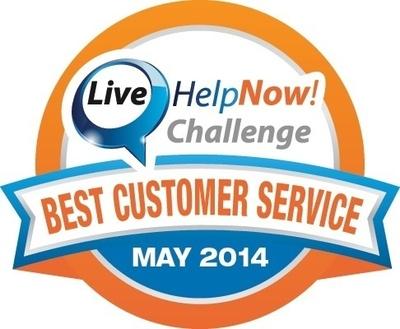 The LiveHelpNow Challenge Award Badge (PRNewsFoto/LiveHelpNow)