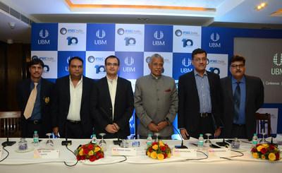 Dignitaries at the Press Conference of IFSEC India 2016 (PRNewsFoto/UBM India Pvt. Ltd.)