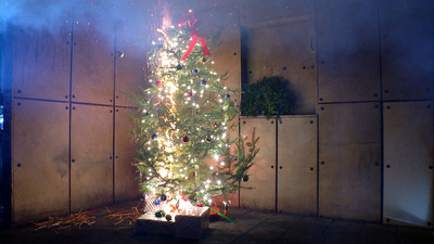 Allstate's Holiday Home Hazards found home fires increase 15 percent during the holidays.  (PRNewsFoto/Allstate)