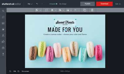 Shutterstock Editor Makes Design Effortless