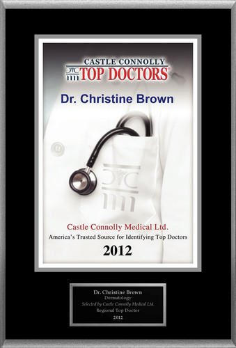 Dr. Christine Brown is recognized among Castle Connolly's Top Doctors® for Dallas, TX region