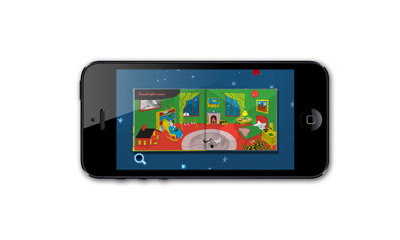 """Literary Classic """"Goodnight Moon"""" Comes To The iPhone, iPad, and iPod Touch.   (PRNewsFoto/HarperCollins Publishers)"""