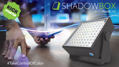 ShadowBox: The Ultimate Portable, App-Controlled, Wireless LED Smart-lamp!