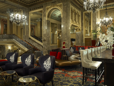 Sir Francis Drake Announces Renovation Completion - Lobby Bar and Lounge.