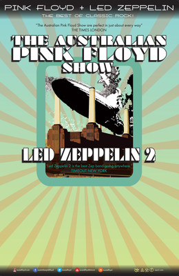 AUSTRALIAN PINK FLOYD ANNOUNCE NORTH AMERICAN TOUR WITH LED ZEPPELIN2