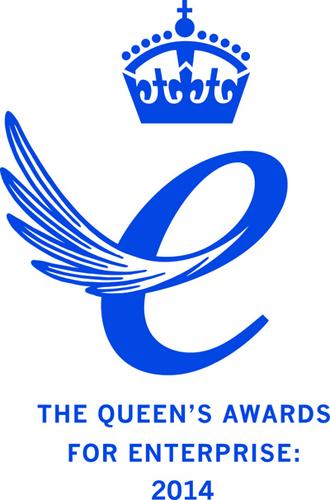 Queen's Award Emblem 2014   (PRNewsFoto/Linguamatics)