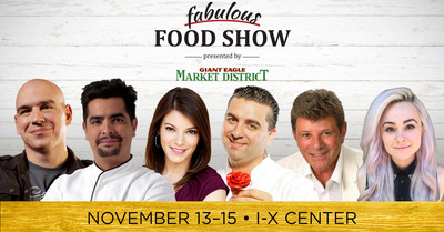 Fabulous Food Show at the I-X Center in Cleveland, OH - Don't miss it!