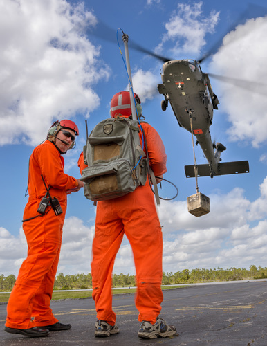 In cooperation with the U.S. Army, Sikorsky Aircraft Corp. has successfully demonstrated optionally piloted flight of a Black Hawk helicopter, a significant step toward providing autonomous cargo delivery functionality to the U.S. Army.  (PRNewsFoto/Sikorsky Aircraft Corporation)