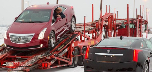 The Cadillac ELR is on its way to Cadillac dealerships throughout the country, including Bill Jacobs Cadillac near Chicago. -Photo General Motors. (PRNewsFoto/Bill Jacobs Cadillac)