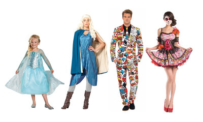 Spirit Halloween is excited to announce this year's top costumes - including recognizable movie characters, personalities from cult TV shows and more -available at Spirit's 1,100 store locations across the United States and Canada. (PRNewsFoto/Spirit Halloween)