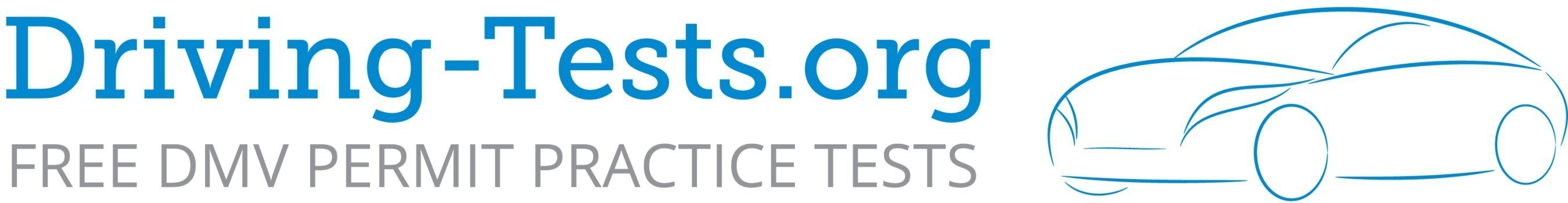 Driving-Tests.org offers free permit practice tests written by experts available to anyone who wants to study, along with online copies of official state or province study guides.