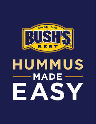 New BUSH'S(R) Hummus Made Easy - available in the bean aisle - is the perfect blend of simple ingredients like tahini, olive oil and spices. Just add a can of drained and rinsed BUSH'S(R) Garbanzo or Black Beans and a pouch of Hummus Made Easy to a high-speed blender or food processor for a delicious, homemade hummus. It's easy as 1-2-3. #HummusMadeEasy