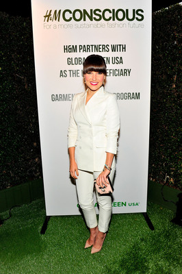 Sophia Bush wears H&M's Conscious Exclusive Collection at Global Green USA's 10th annual Pre-Oscar Party.  (PRNewsFoto/H&M)