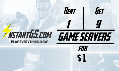 InstantGS.com: The 9-in-1 game server renting service, starting at $1 USD! The only and unique game #ServerBundle in the internet. Play Everything NOW!    (PRNewsFoto/Ipsilon Developments Inc.)