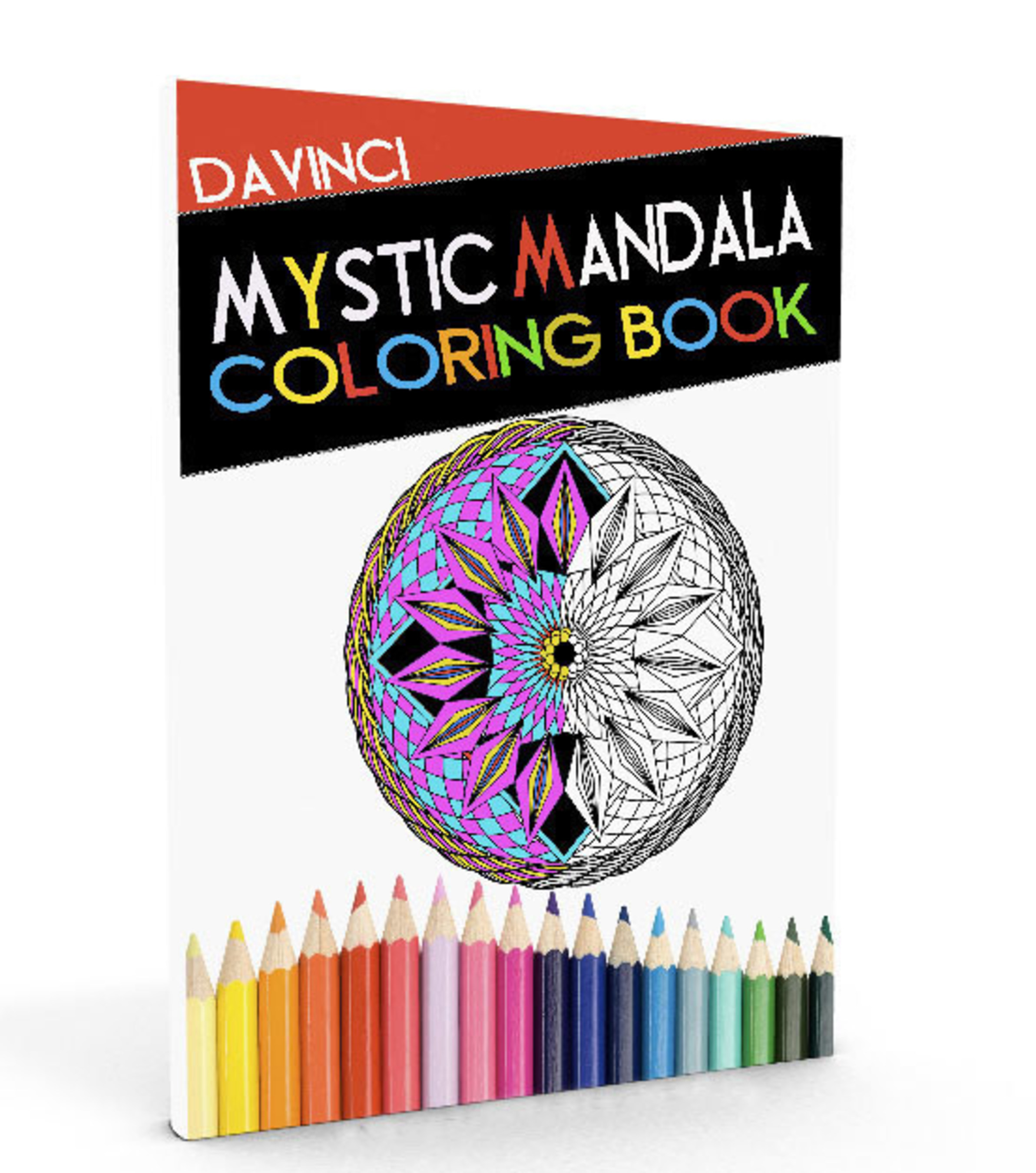Author Troy Davinci Launches Mystic Mandala Coloring Book For