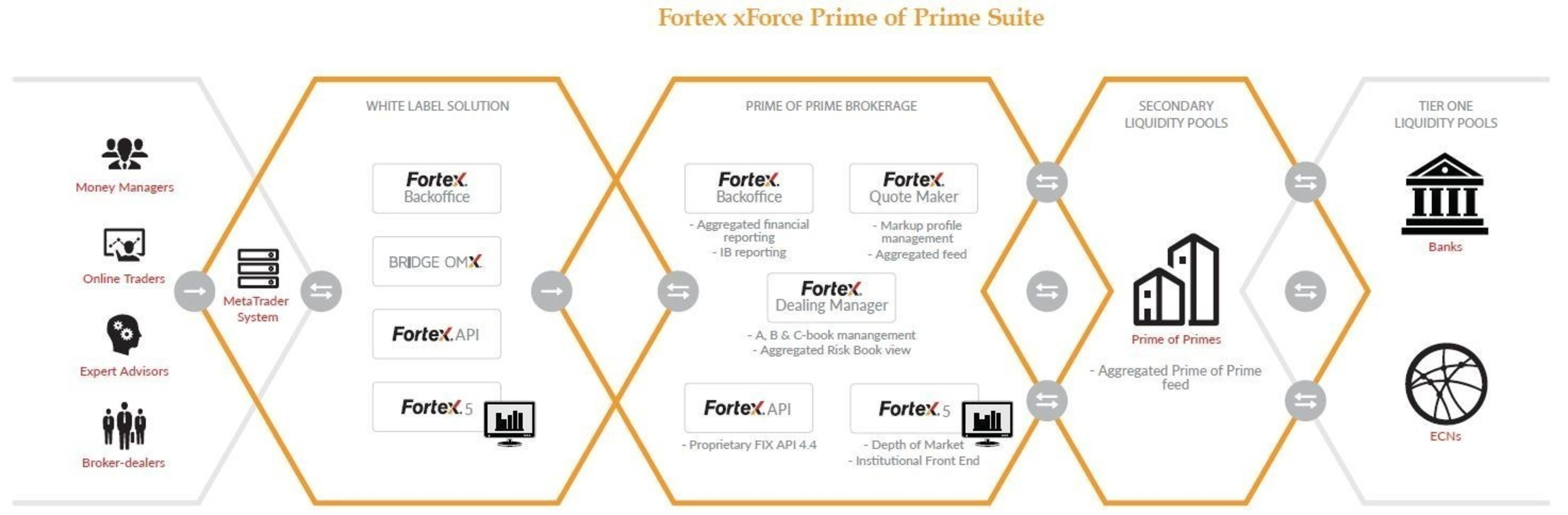 Fortex, Inc. introduces its next-generation 'xForce Prime of Prime Suite' for FX Brokers