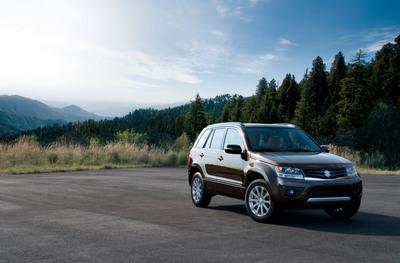 2013 Suzuki Grand Vitara - More sport with your utility.  (PRNewsFoto/American Suzuki Motor Corporation)