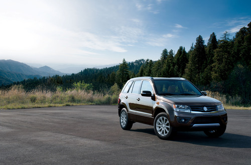 2013 Suzuki Grand Vitara - More sport with your utility.  (PRNewsFoto/American Suzuki Motor Corporation)