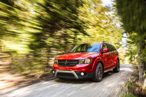 2014 Dodge Journey Crossroad.  (PRNewsFoto/Chrysler Group LLC)