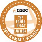 NHPCO's We Honor Veterans has received ASAE's 2015 Summit Award.