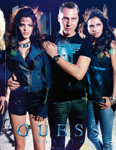 GUESS Extends Partnership With Tiesto