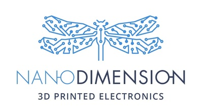 Nano Dimension logo (PRNewsFoto/Nano Dimension)