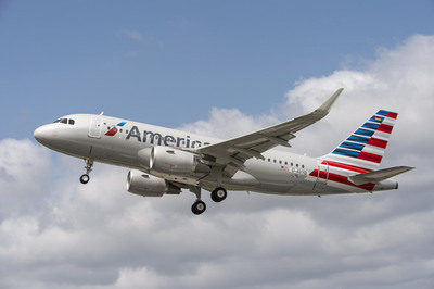 American Airlines continues fleet renewal with delivery of first Airbus A319.  (PRNewsFoto/American Airlines)