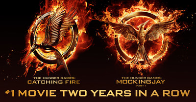 #1 Movie Two Years In A Row