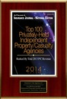 "Insurance One Agency, LC Selected For ""Top 100 Privately-Held Independent Property/Casualty Agencies"" (PRNewsFoto/Insurance One Agency, LC)"