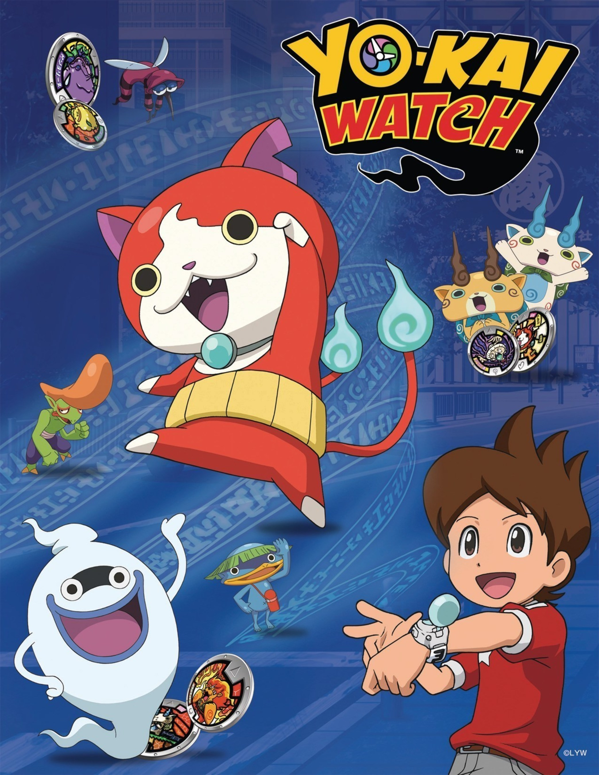 Japanese Phenomenon YO-KAI WATCH'' To Begin Airing On Disney XD In The U.S. Later This Year!