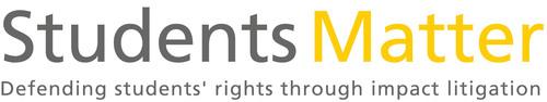 Students Matter - Defending Students' Rights Through Impact Litigation. (PRNewsFoto/Students Matter) ...