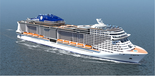 MSC Cruises and STX France sign a letter of intent for two prototype cruise ships, due for delivery in 2017 and  ...